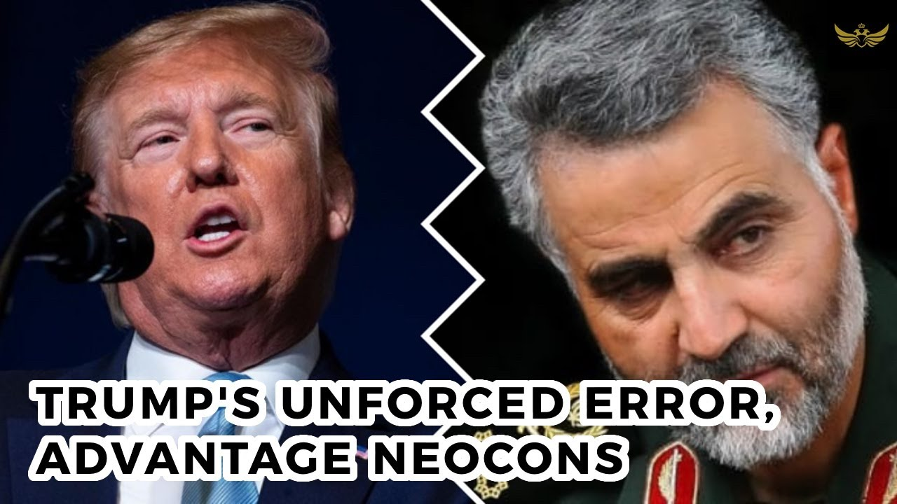 Trump's unforced error, advantage neocons