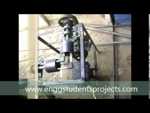 Mechanical engg students project---Perpendicular Power (rotations) Transmission without Gear