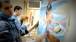 Мастер-классы Уроки живописи c Макс Скоблинский.