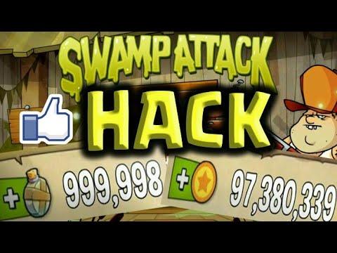 hack game swamp attack - Hướng dẫn hack tiền game swamp attack( hack money Swamp attck) VIDEO HD 720