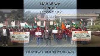 Maharaja agg. Sr. Sec. Pub. School. Gumthala rao