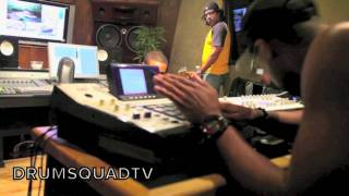2 Days in the studio w/ Drumma Boy & B.O.B.