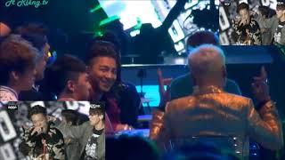 FanCam BIGBANG MAMA 2015  reaction to iKON Rhythm Ta korean music