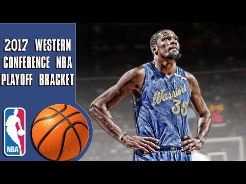 2017 Western conference NBA playoff bracket/predicitons