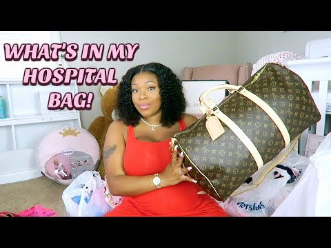 the-baby-is-almost-here- -what's-in-my-hospital-bag-for-labor-and-delivery- -first-time-mom