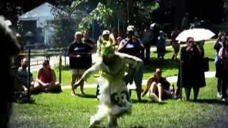 Grass Dancer. VA indigenous Festival 2014. Rappahannock tribe