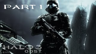 HALO 3: ODST Walkthrough Gameplay Part 1 - REMASTERED HALO MCC - HOW TO PLAY (60fps)