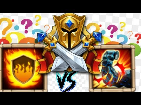 Castle Clash FLAMEGUARD VS STONESKIN Discussion!!!!
