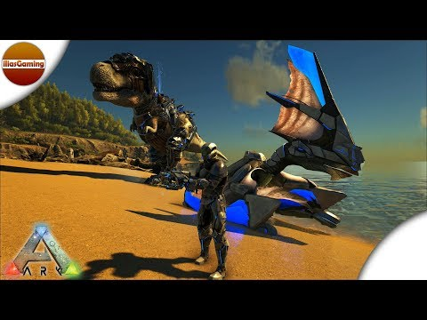 Solo Megapithecus Alpha & Tek Saddles!!! ARK: Survival Evolved E123 (Greek gameplay)