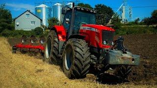 Ekstremalna Orka 2016. Massey Ferguson 6499 Dyna-6 & Vogel&Noot. Ryk Silnika Traktory W Błocie