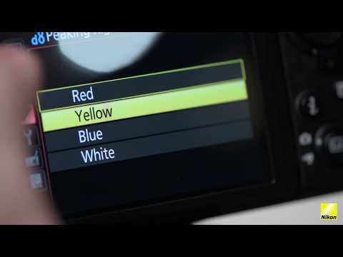 Nikon D850 tips: Focus Peaking