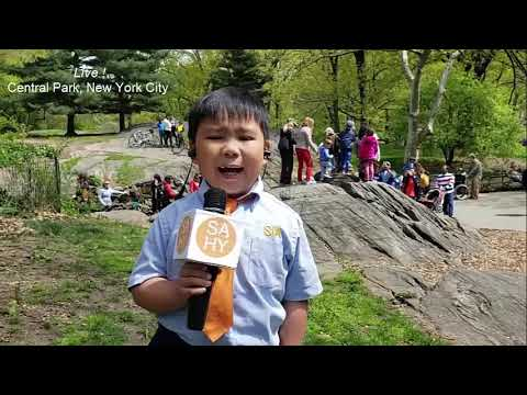 Rachel Lutzker - Second Grader Becomes Superstar TV Reporter