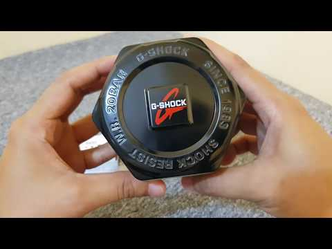 G-Shock DW5500BB-1 Black Out Unboxing