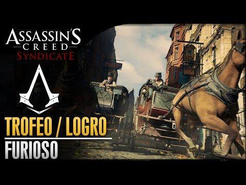 Assassin's Creed Syndicate | Trofeo / Logro Furioso | Destruye 20 vehículos embistiéndolos