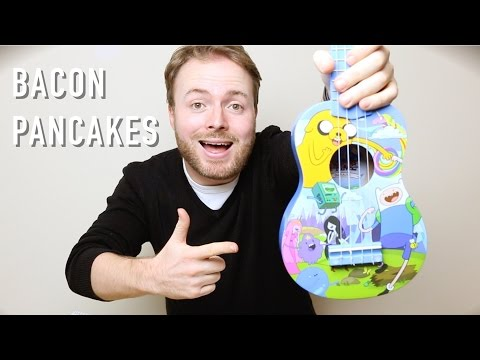 Bacon Pancakes - ADVENTURE TIME UKULELE TUTORIAL!