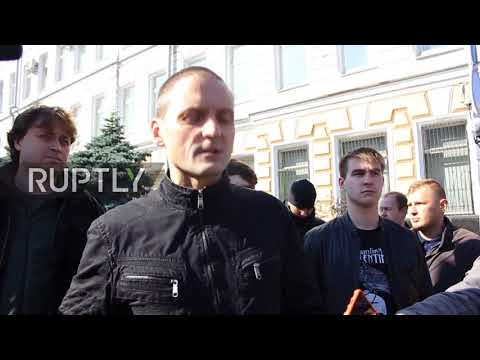 Russia: Opposition activist Udaltsov detained during unauthorised rally in Moscow