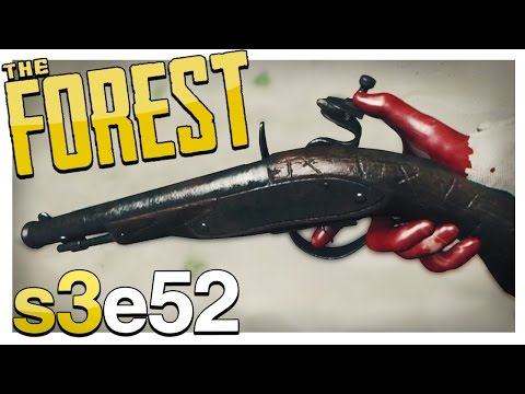 FLINTLOCK PISTOL (All 8 Parts & Locations) | The Forest Gameplay S3E52 (Update v0.49)