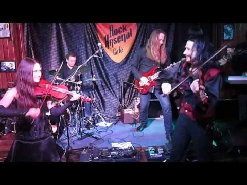 Красная Скрипка - Strings of Fire (Ronan Hardiman) live in Rock Arsenal Cafe 1/03/14