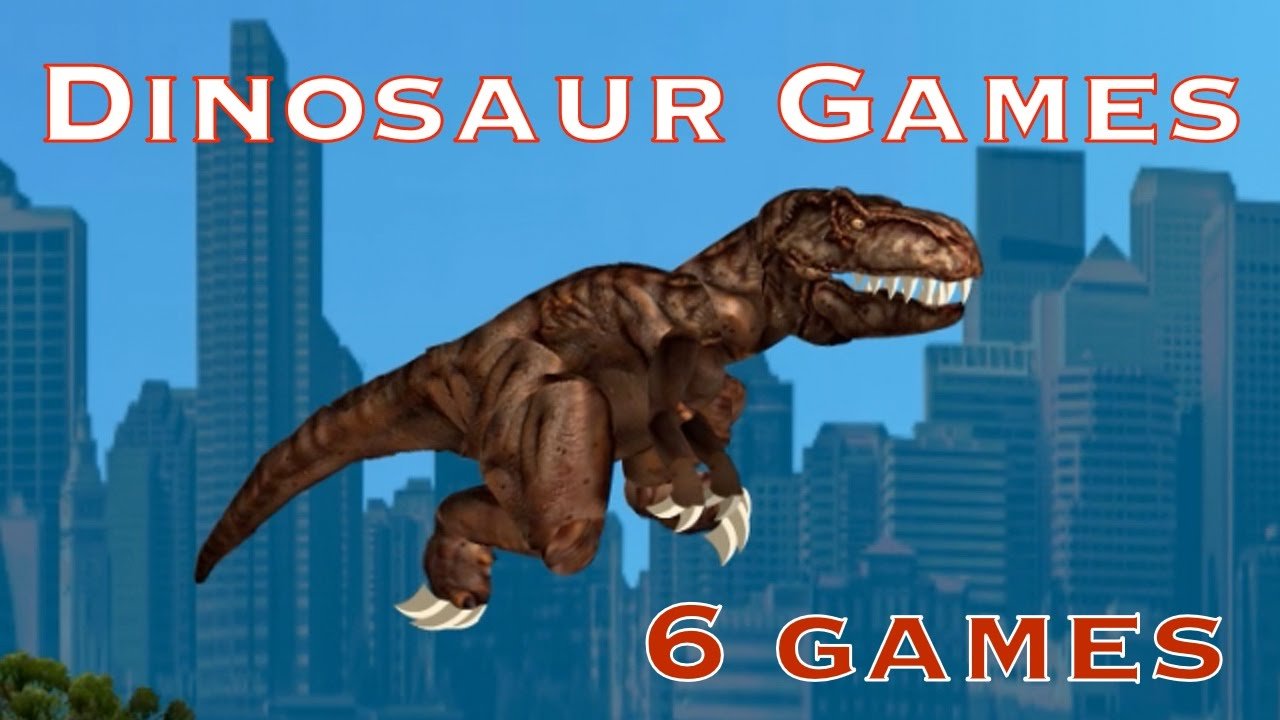 Dinosaur Games Videos For Kids Online Games With
