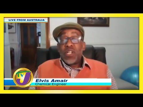Elvis Amair a Jamaican Living in Australia: TVJ Smile Jamaica - September 17 2020