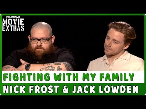 FIGHTING WITH MY FAMILY | Nick Frost & Jack Lowden talk about the movie - Official Interview
