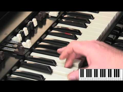 HAMMOND ORGAN & KEYBOARDS FOR BEGINNERS LESSON #4 - B3 and C3
