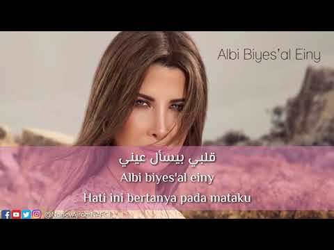 Nancy Ajram - Albi Biyes'al Einy Translation