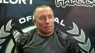 Georges St. Pierre is a fan of the bad guys, says MMA would be boring if everyone was like him