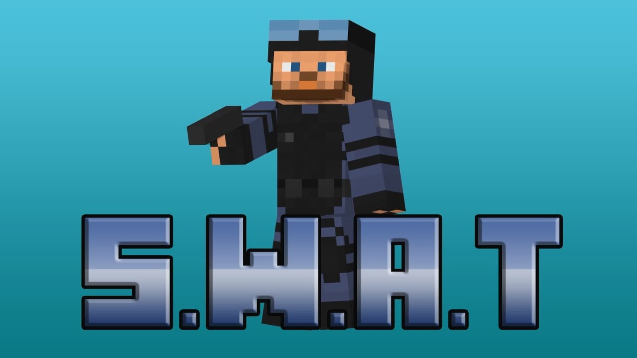 Randon Minecraft Skin - S.W.A.T - YouTube