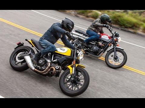 Scrambler Slam Ducati Vs Triumph