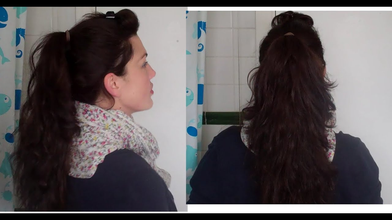 Hotd 10 The Miracle Ponytail Quick Easy Long Hair Without