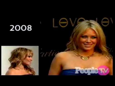 Hilary Duff - People.com -  Red Carpet Look Book 2008 - HD thumbnail