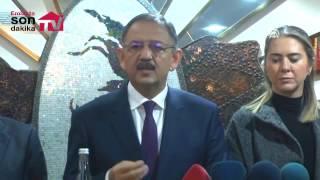 Mehmet Özhaseki Mardin'de açıklamalarda bulundu