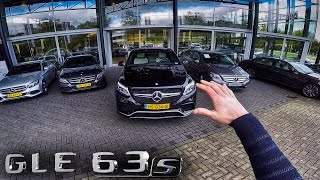 Mercedes GLE 63 S AMG Coupe 4Matic Review POV Test Drive