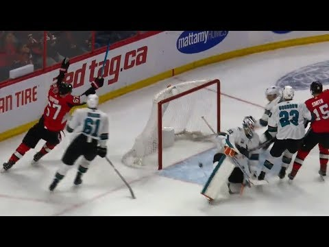 NHL Highlights | Sharks vs. Senators - Dec 1, 2018