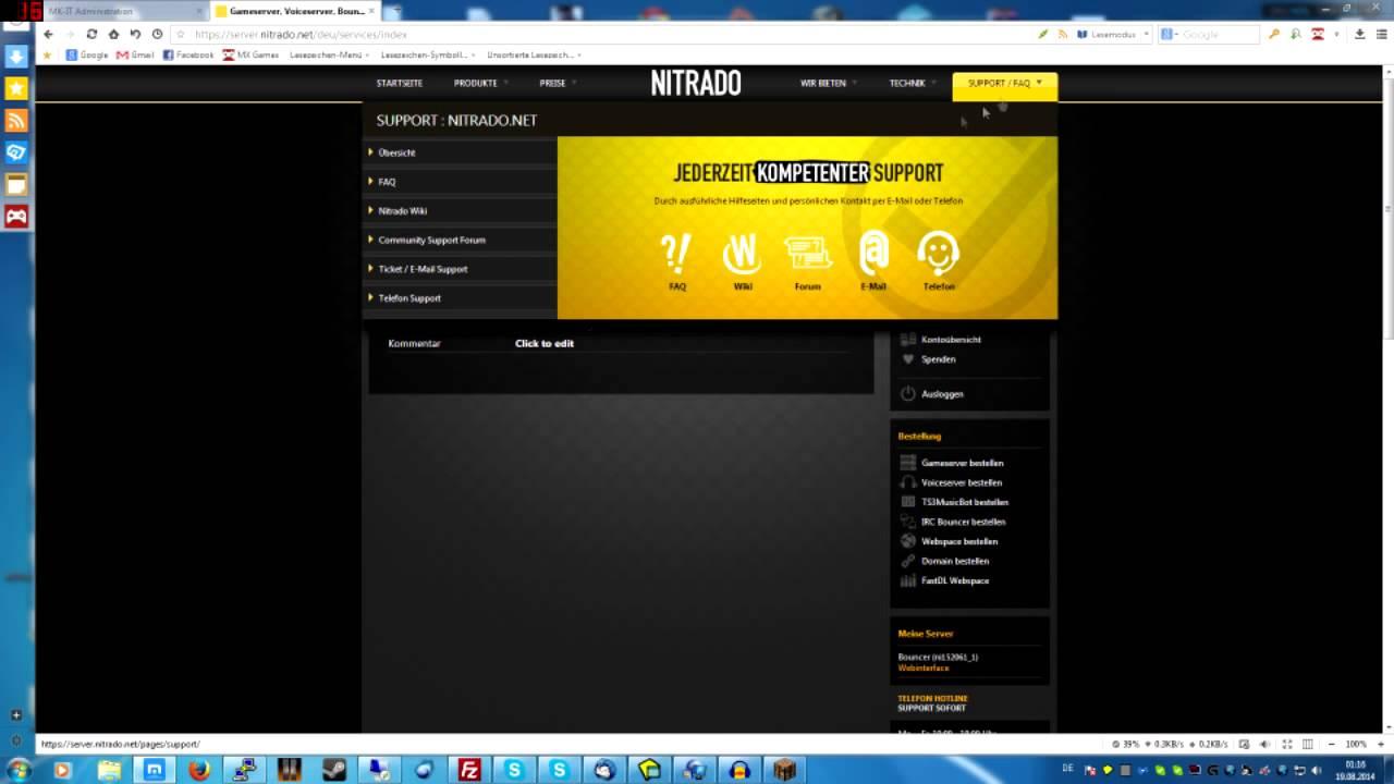 Nitradonet Server Erstellen Eigenen Server Erstellen YouTube - Eigenen minecraft server erstellen nitrado