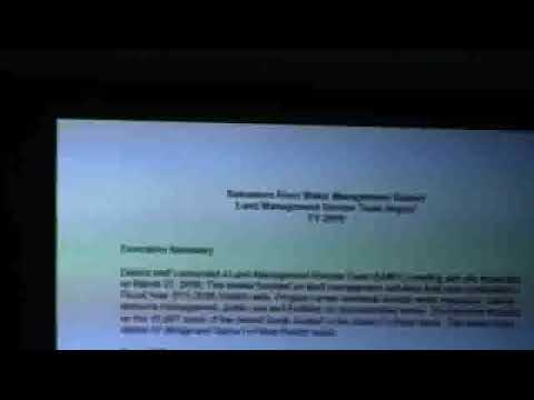26. Land Management Review Team Report Team Effort --Bill McKinstry