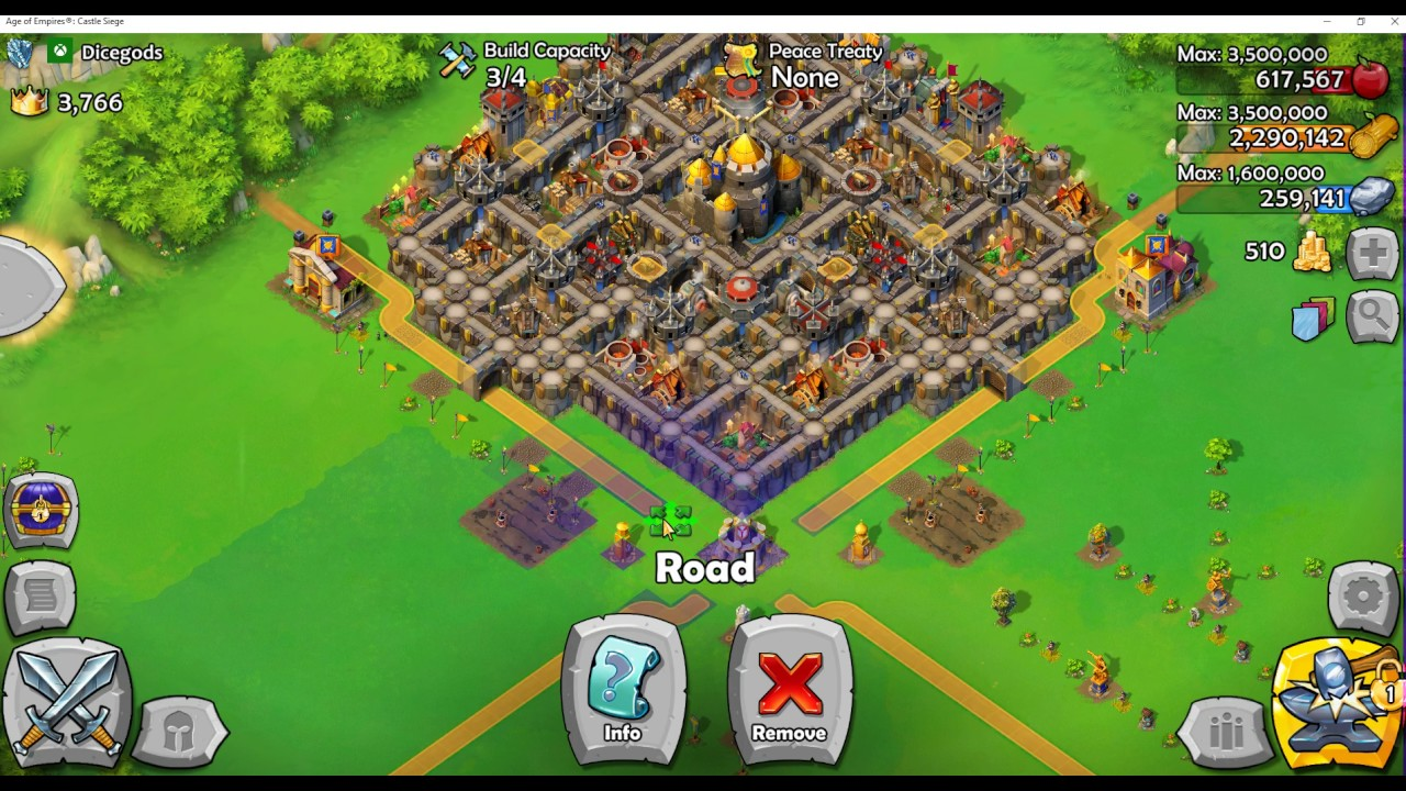 Age of Empires Castle Siege Tutorial Episode 9 Advanced Castle Design