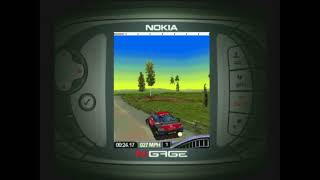 Colin McRae Rally 2005 - Nokia N-Gage Gameplay