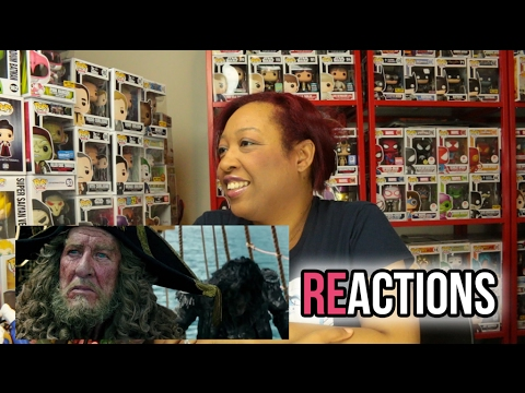 Pirates of the Caribbean: Dead Men Tell No Tales Trailer Superbowl TV Spot (2017) Reaction / Review