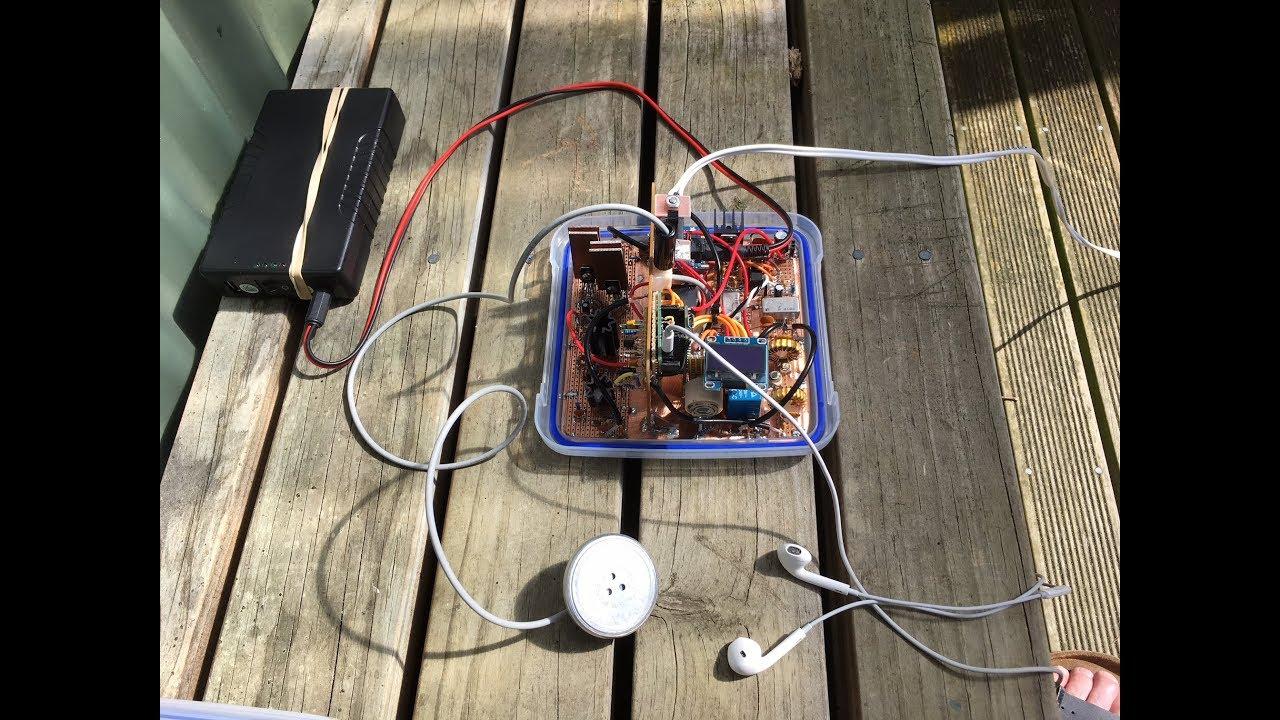 Homebrew Teensy SDR Transceiver Revisited - Field Tests