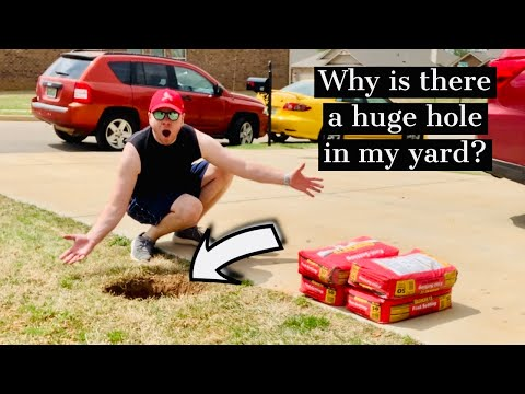 How To Construct An In Ground Basketball Goal - Showstopper Vlog