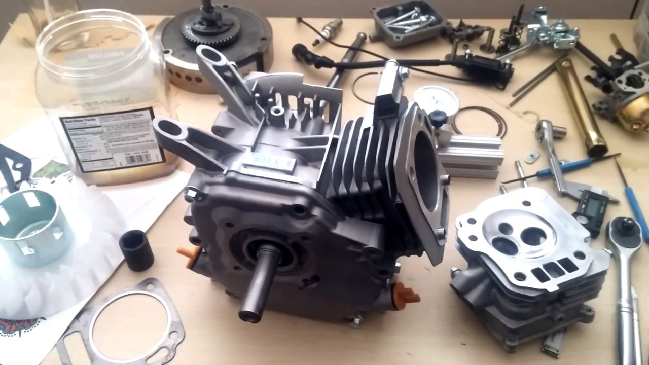 DIY Paramotor Engine pt 1: Predator 212 Hemi Milling and Grinding Head