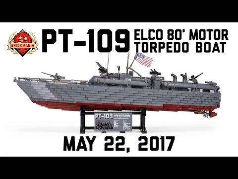 PT-109 - Custom Military Lego