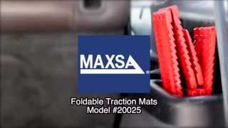 MAXSA Innovations Traction Mats (Model 20025)