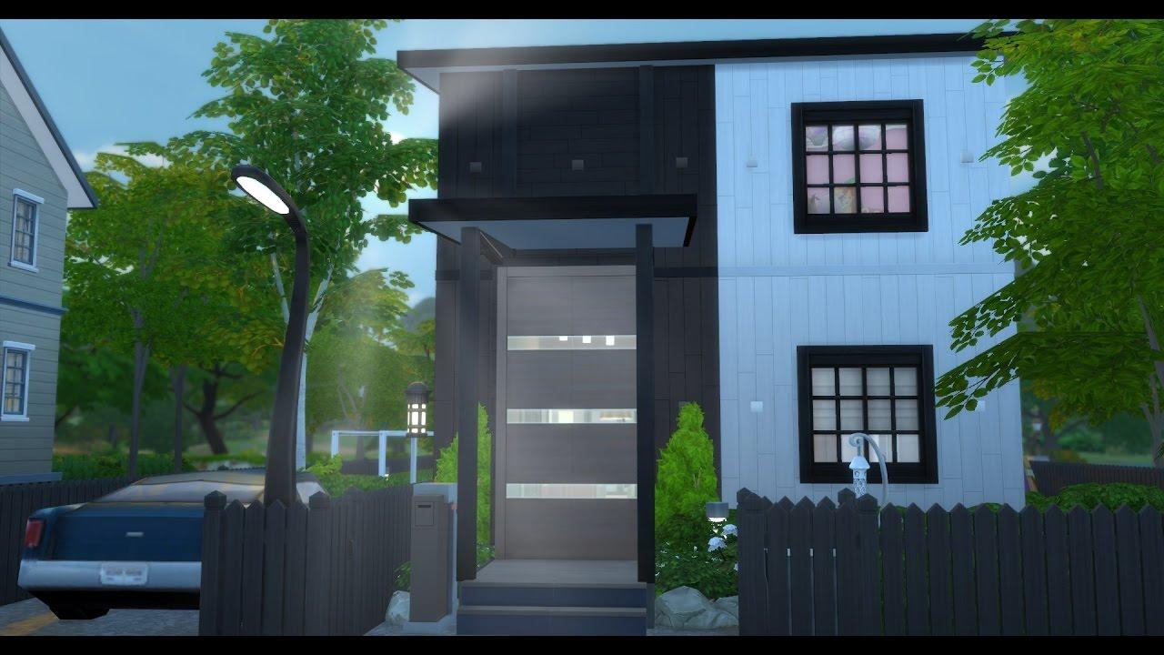 IKEA-radhus - The Sims 4 Speed Build (SWEDISH/SVENSKA) - YouTube