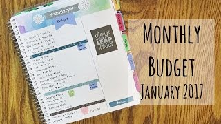Monthly Budget | January 2017