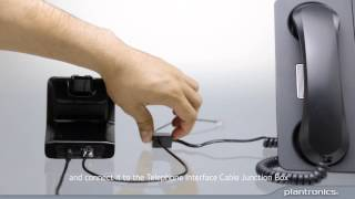How to Connect the CS500 to Your Deskphone with an HL10 Handset Lifter and Answer a Call
