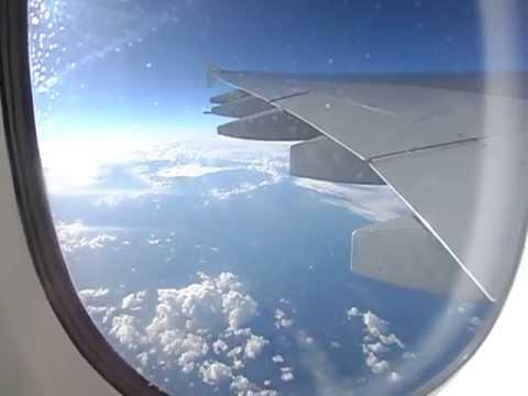 Over Amsterdam & the North Sea.