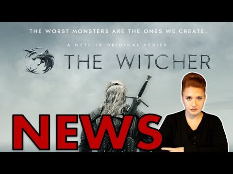 NEW Netflix Witcher TV Series Character Revealed + Season Renewal